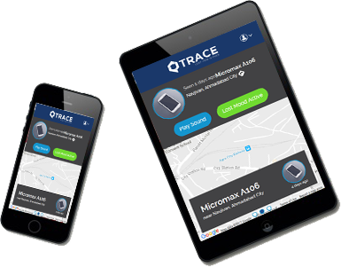 find your lost phone by QTrace