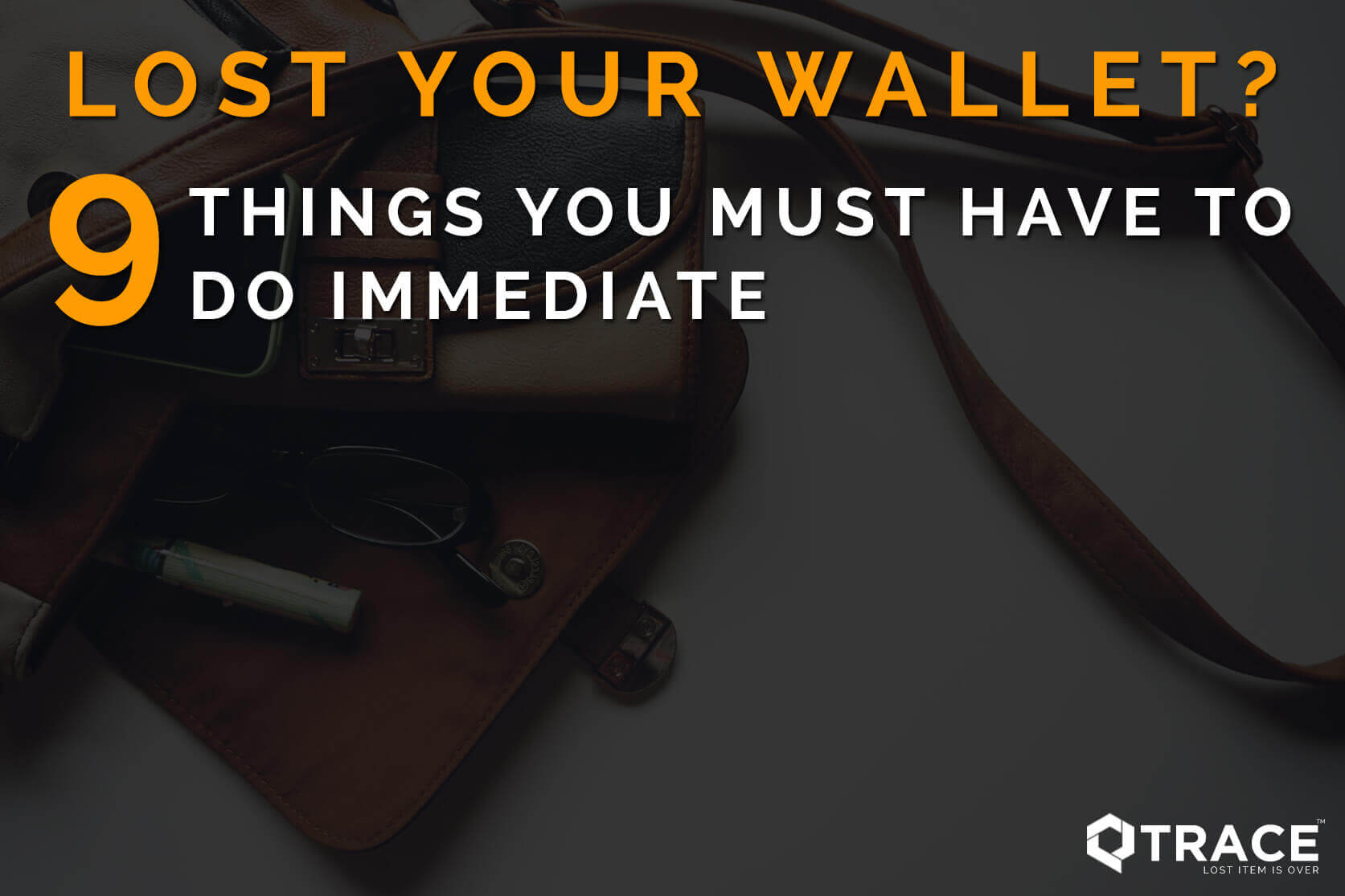 What Should I Do If My Wallet Is Stolen or Lost