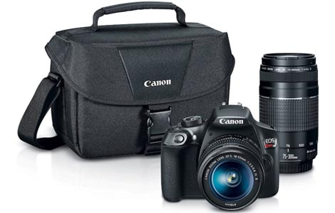 Kohls discounts on Canon EOS Rebel T6 camera
